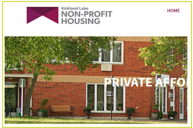 kirkland lake non profit housing