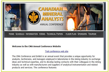Analytical Technology in the Canadian Mining Industry