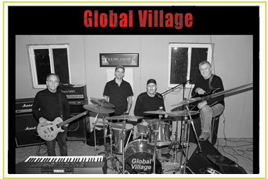 Global Village a band in Kirkland Lake