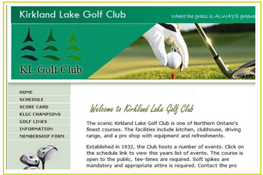 Kirkland Lake Golf Club