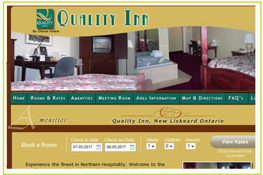Quality Inn Motel New Liskeard