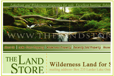 The Land Store, Wilderness properties for sale