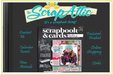 The Scrap Attic, scrapbooking in kirkland lake