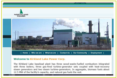 Kirkland Lake Power Corp
